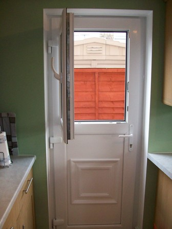 Browse our recent upvc projects green home windows ltd for Back entry doors for houses